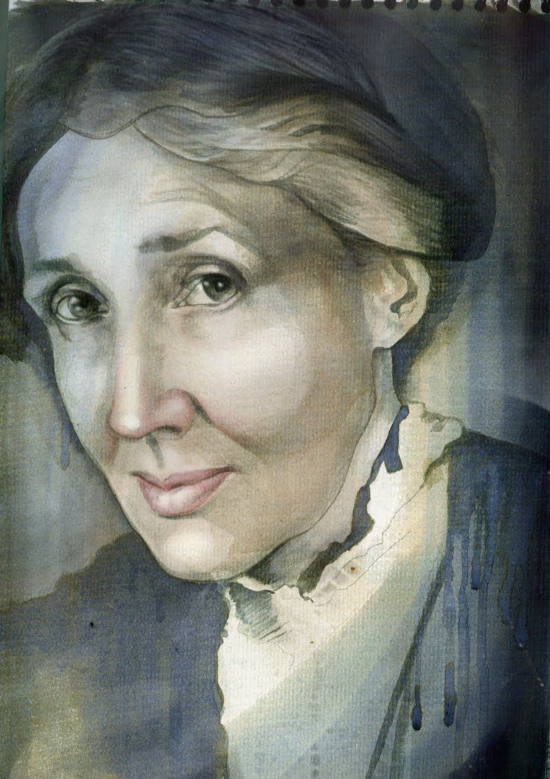 The Ecstasy Of St Caprinus Virginia Woolf Granite