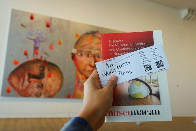 Museum MACAN, Menikmati Cantiknya Seni Kekinian