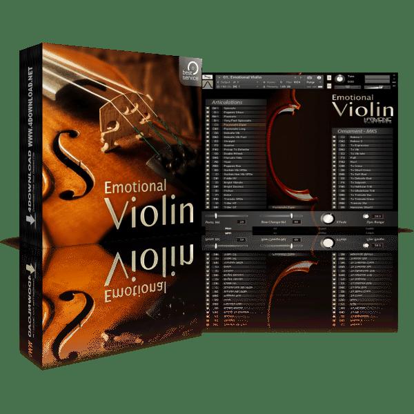 Best Service Emotional Violin KONTAKT Library