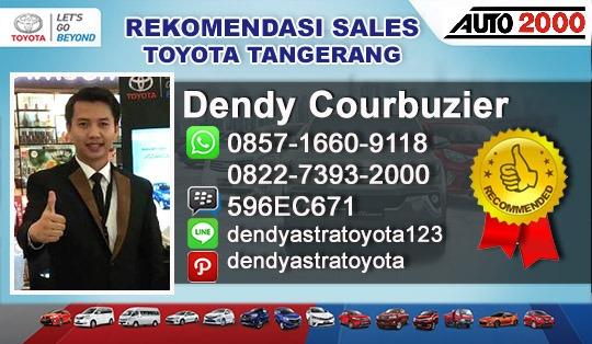 Rekomendasi Sales Toyota BSD City Tangerang