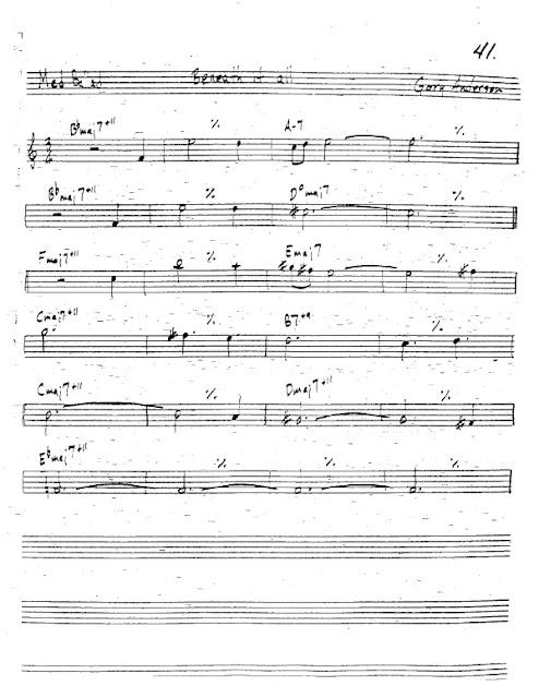 Partitura Trompeta Gary Anderson