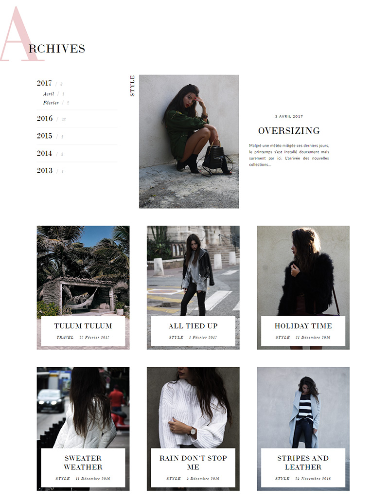 Decade of Shades - Design de blog Blogger