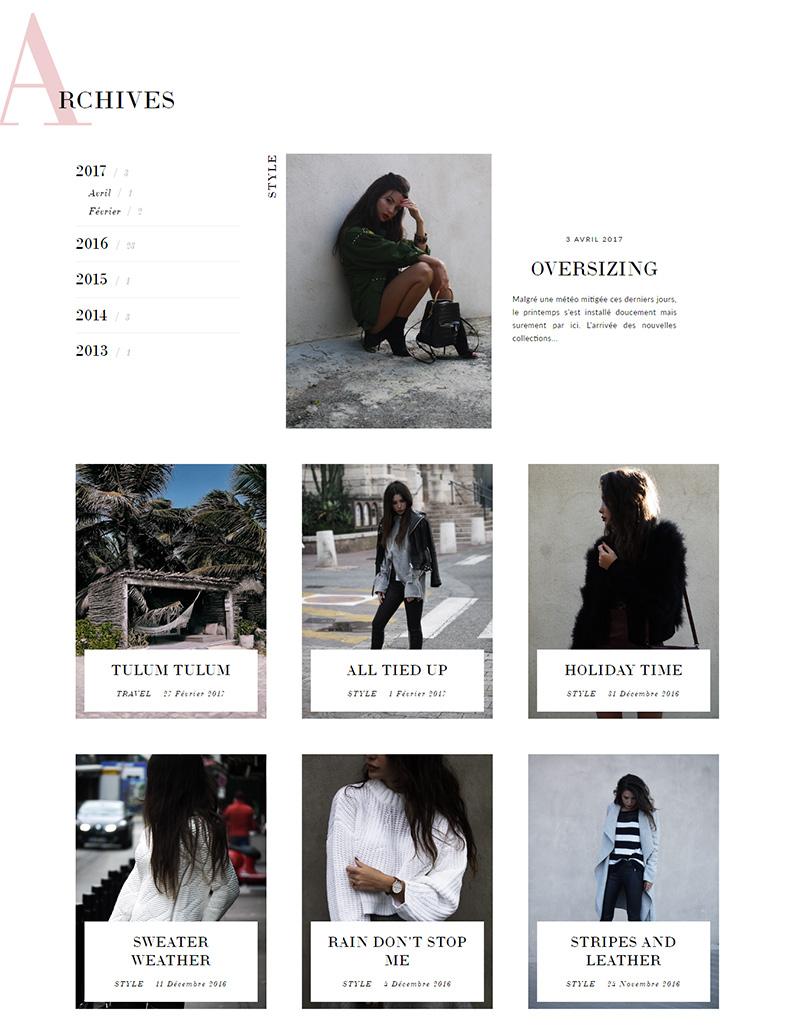 Decade of Shades - Design de blog Blogger