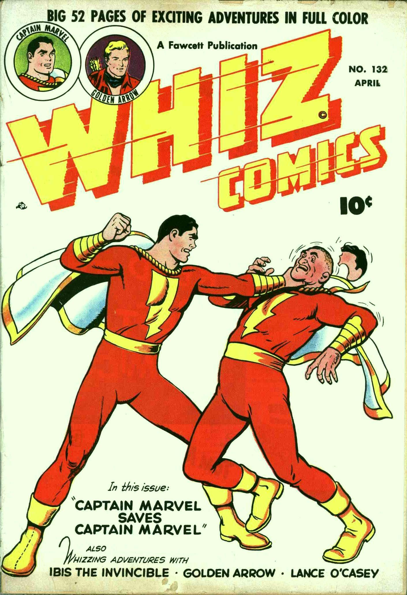 WHIZ Comics 132 Page 1