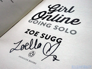Going Solo Signed Page
