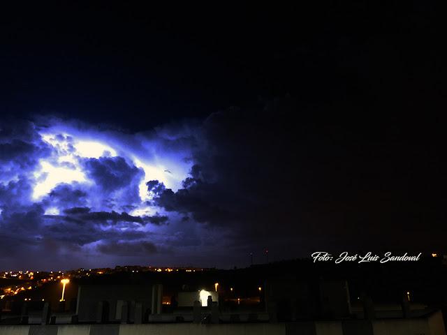 Fotos tormenta eléctrica Gran Canaria, noche 28 octubre