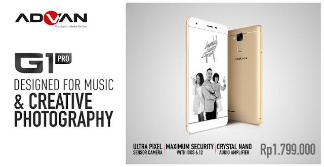 Smartphone Advan G1 Pro