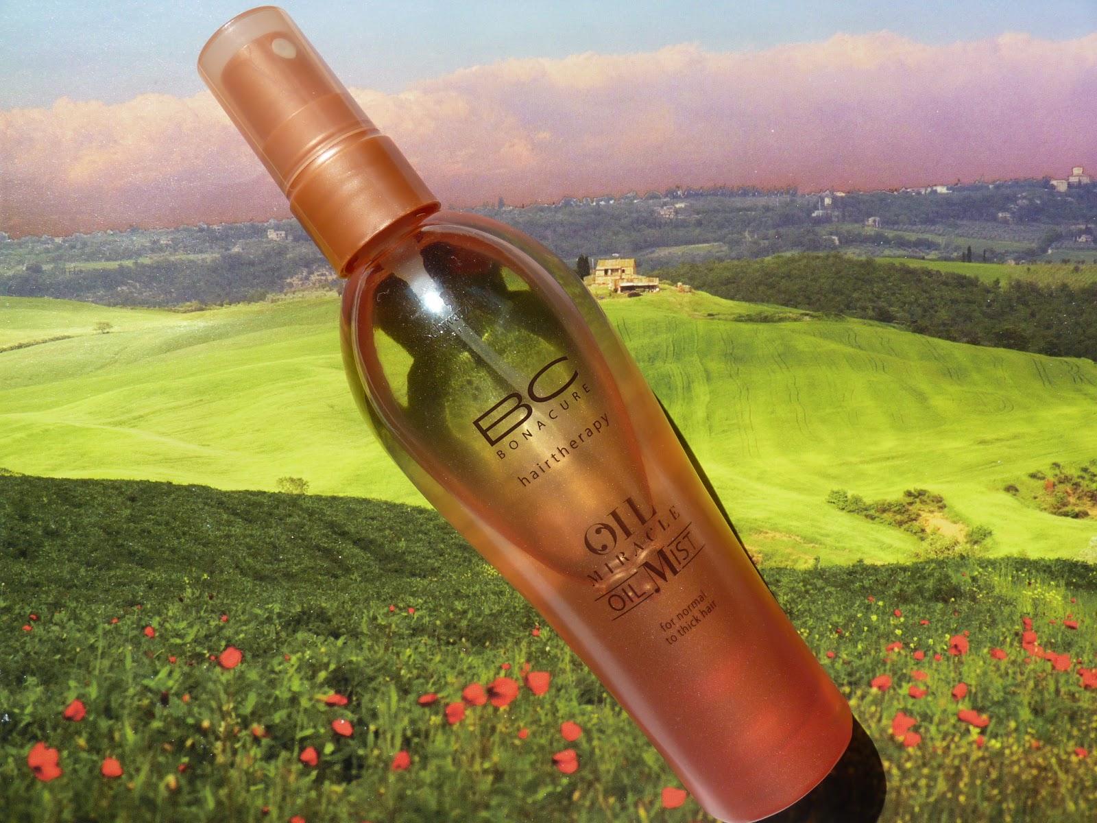 olejek w sprayu do pielęgnacji włosów