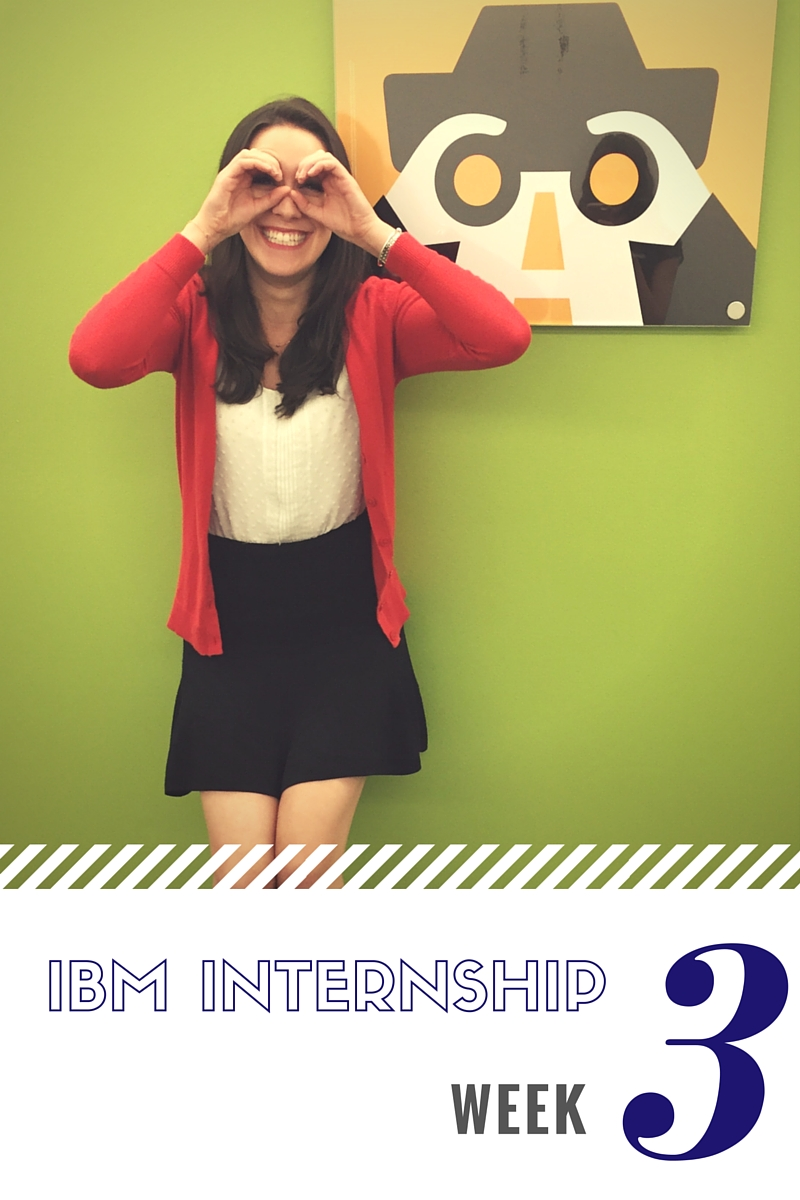 IBM Sales Internship Week 3