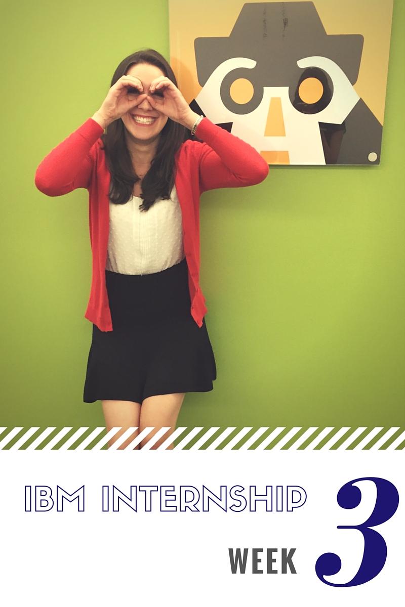 IBM Sales Internship Week 3