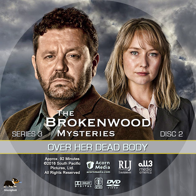 The Brokenwood Mysteries Season 3 Disc 2 DVD Label