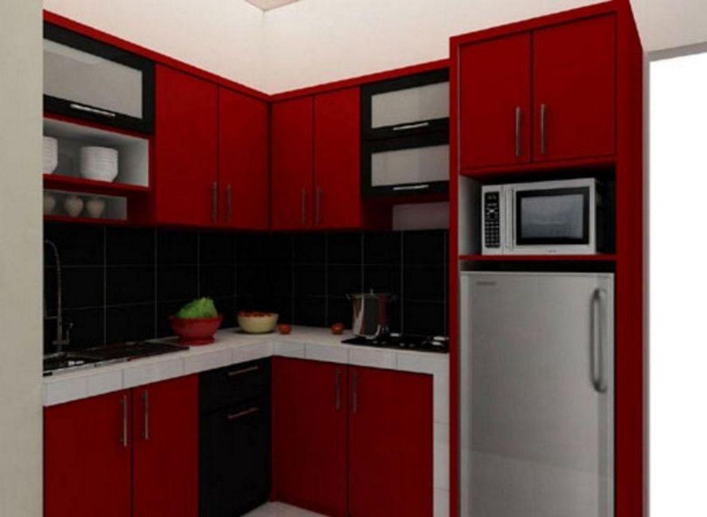 Kreasi Interior Untuk Dapur Mungil Apartemen Terlihat Menarik