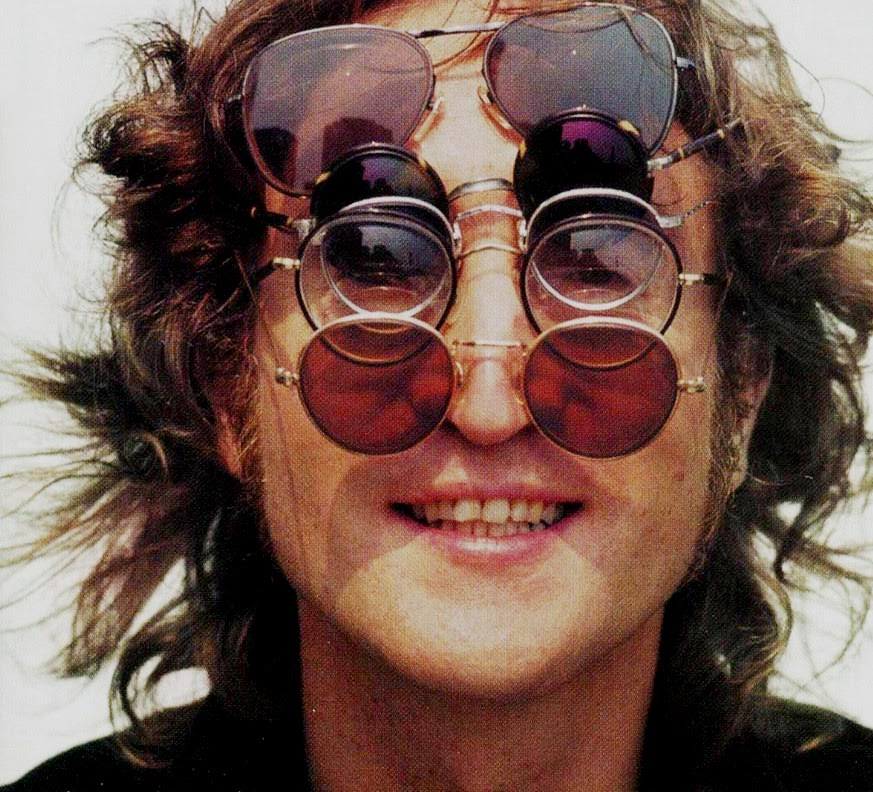 best authentic hot product for whole family Re-Inking Fashion...: John Lennon 'Teashade' Sunglasses