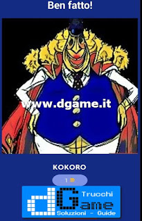 Soluzioni Guess The One Piece Character livello 26