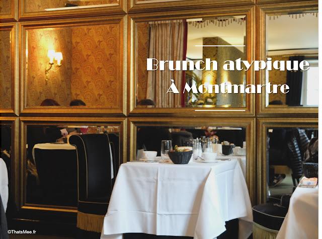 restaurant resto brunch art deco hotel particulier montmartre Paris 18eme