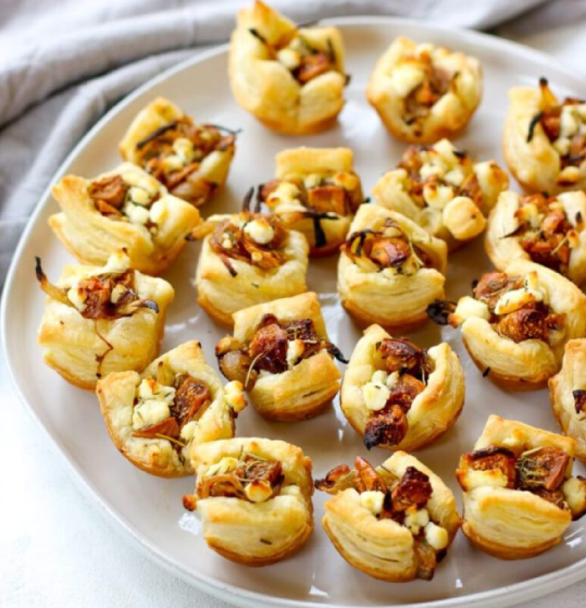Fig & Goat Cheese Bites