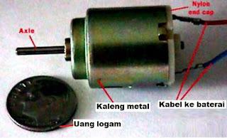motor menggunakan magnet untuk berputar