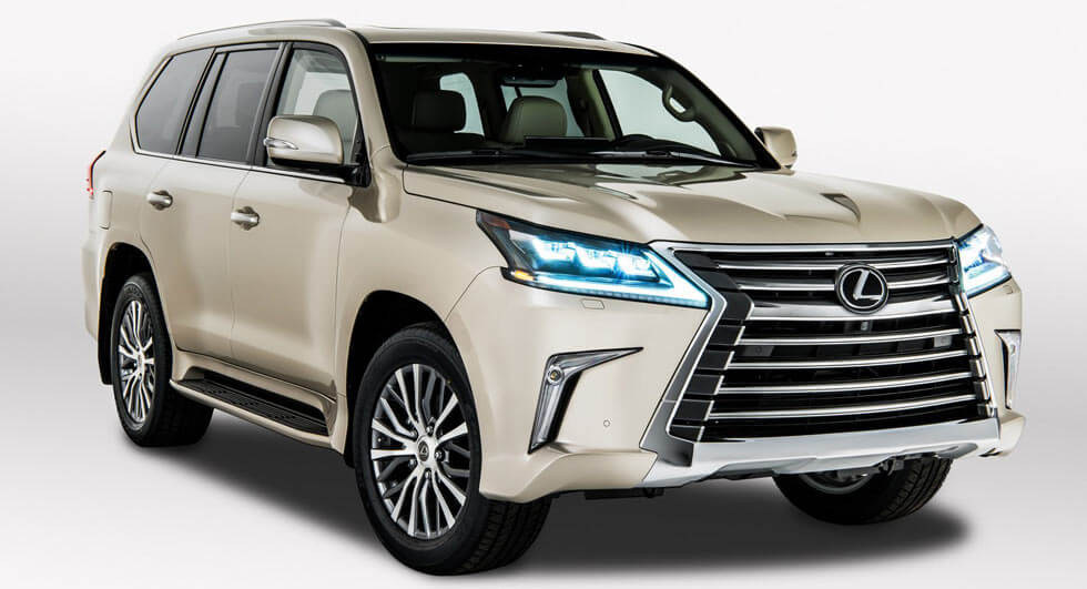 Lexus LX Gains New Five-Seat Variant In LA