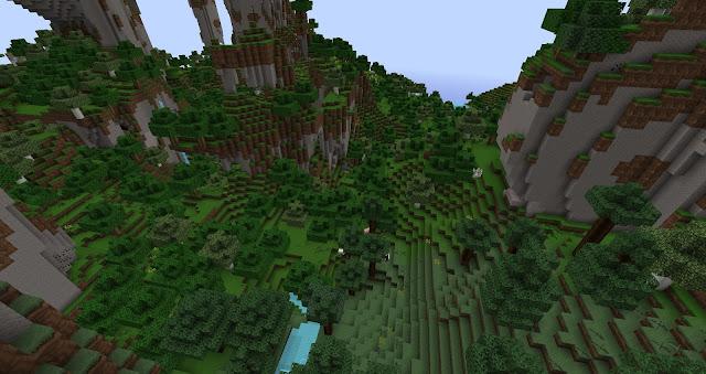 Generacion de montañas en minecraft