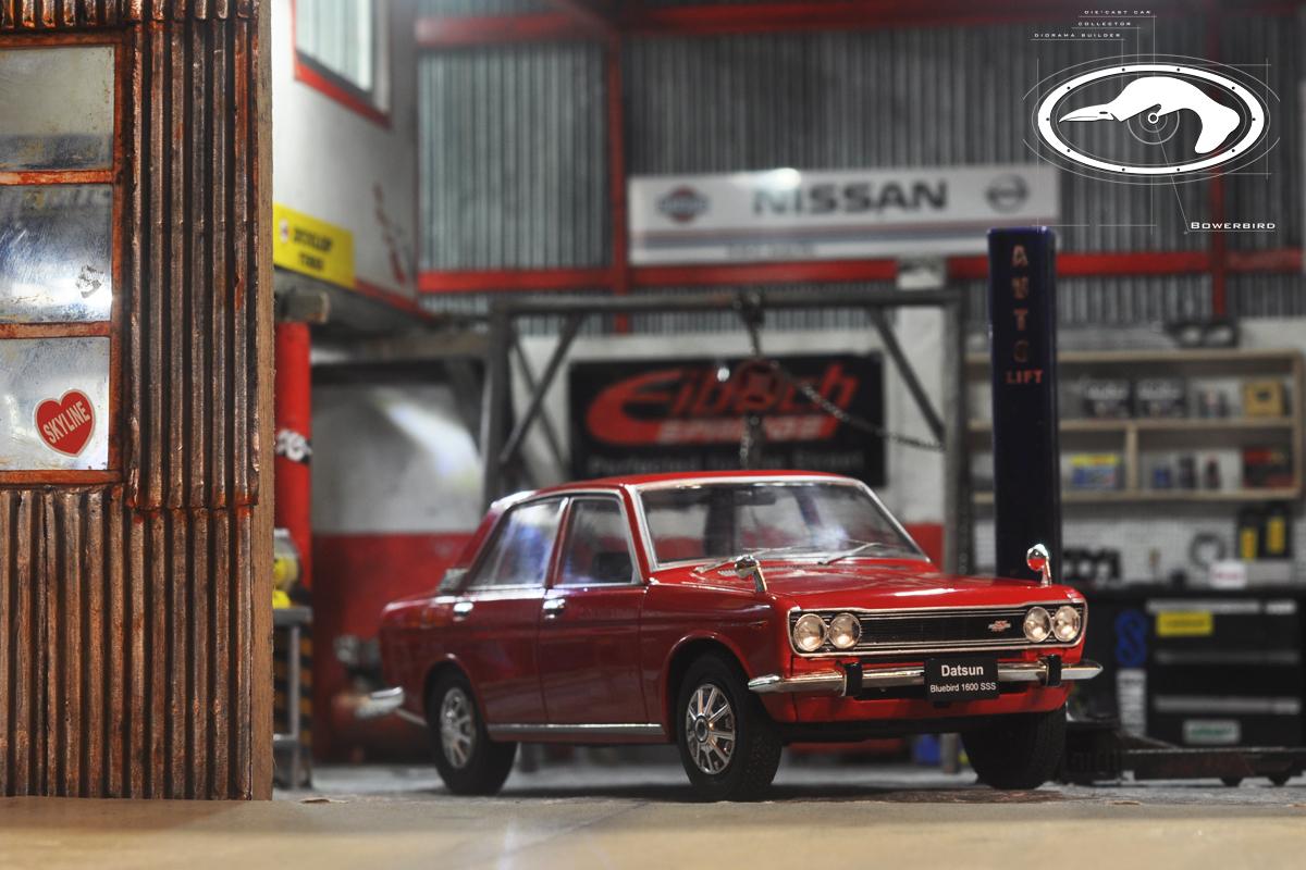 Bowerbird garage rmk auto fix 1 24 diorama kd01 171008 24 for Garage gdn auto