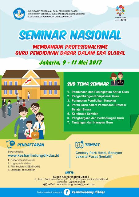 Kemdikbud Gelar Seminar Nasional, Inilah Pedoman Pendaftarannya!