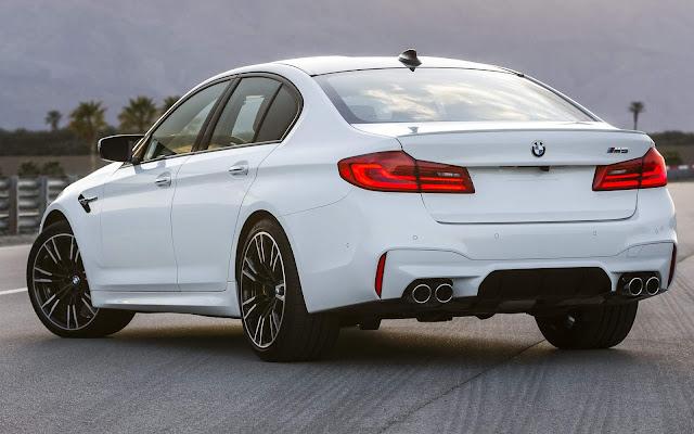 BMW M5 2019: recall por risco de curto circuito - Brasil