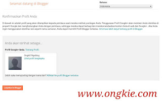 Tutorial Membuat Blog Blogger
