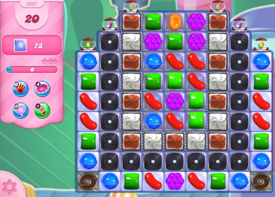 Candy Crush Saga level 2997