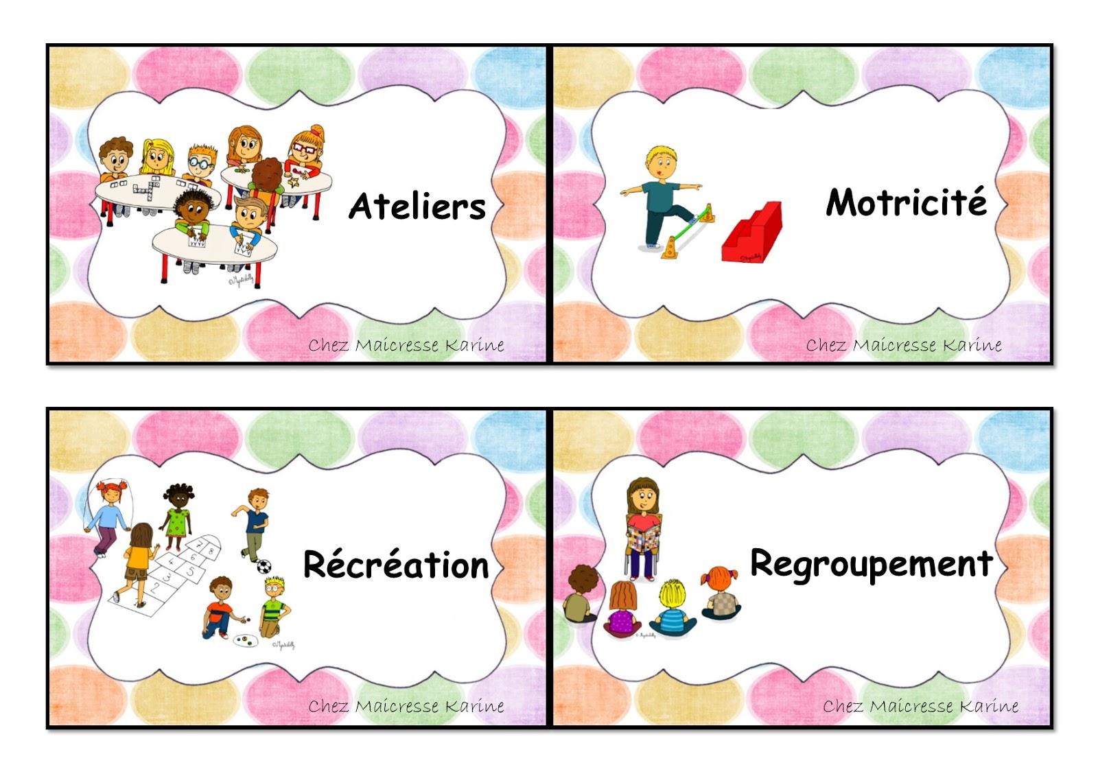 Chez Maicresse Karine Le Programme Du Jour