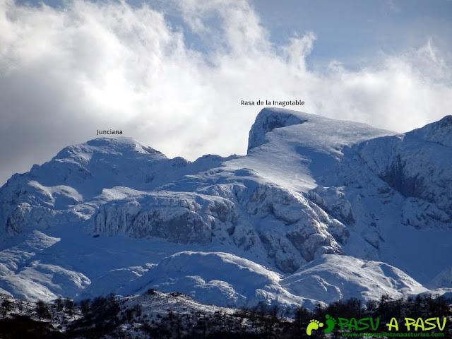 Sierra de Juan Robre: Desde Cabezo de la García vista de la Junciana y Rasa de la Inagotable