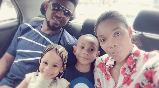Kaffy shares lovely family photo