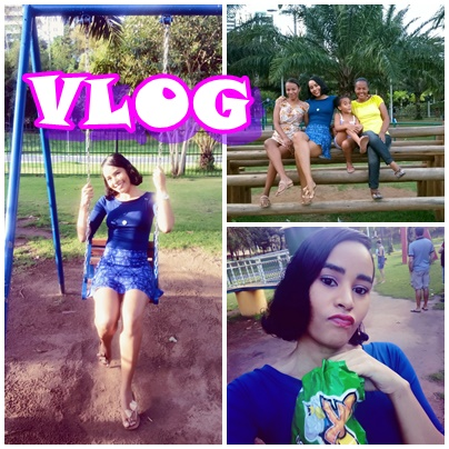 Mine vlog: Tarde no parque