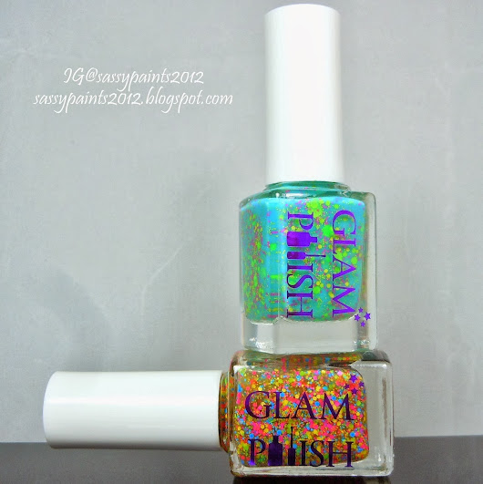 "Glam Polish ""Leap Frog"" & "" Twister"""