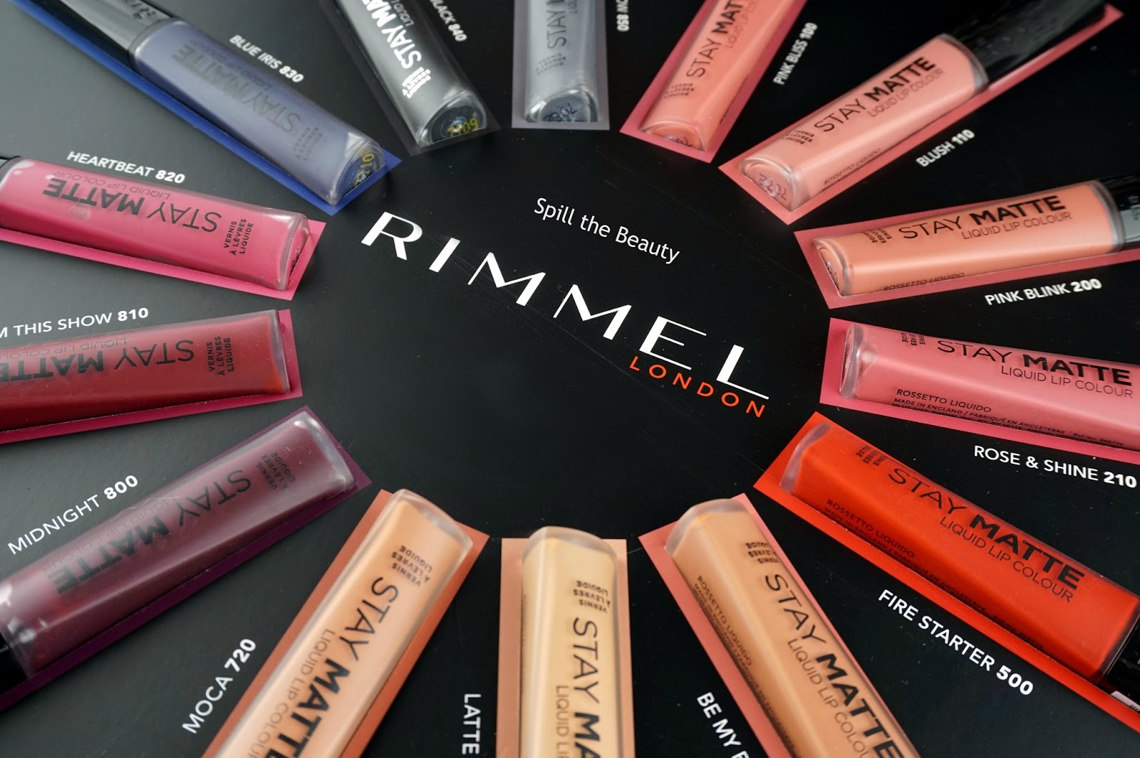 rimmel london stay matte liquid lip color review swatches