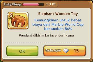Trik Cara mendapat Pendant S Elephant Wooden Toy Gratis