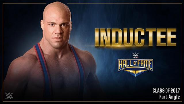 Bréking: Kurt Angle a WWE Hall of Fame-ben