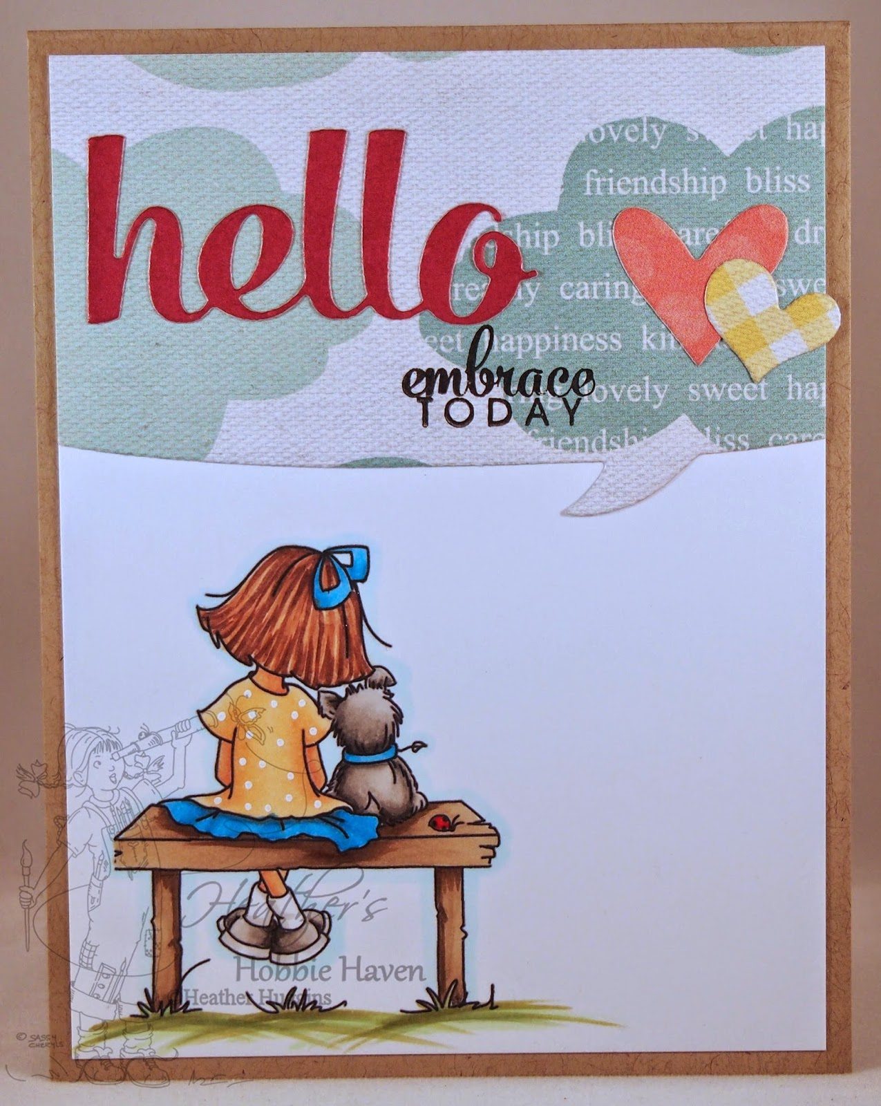 Heather's Hobbie Haven - Just For Fun Card