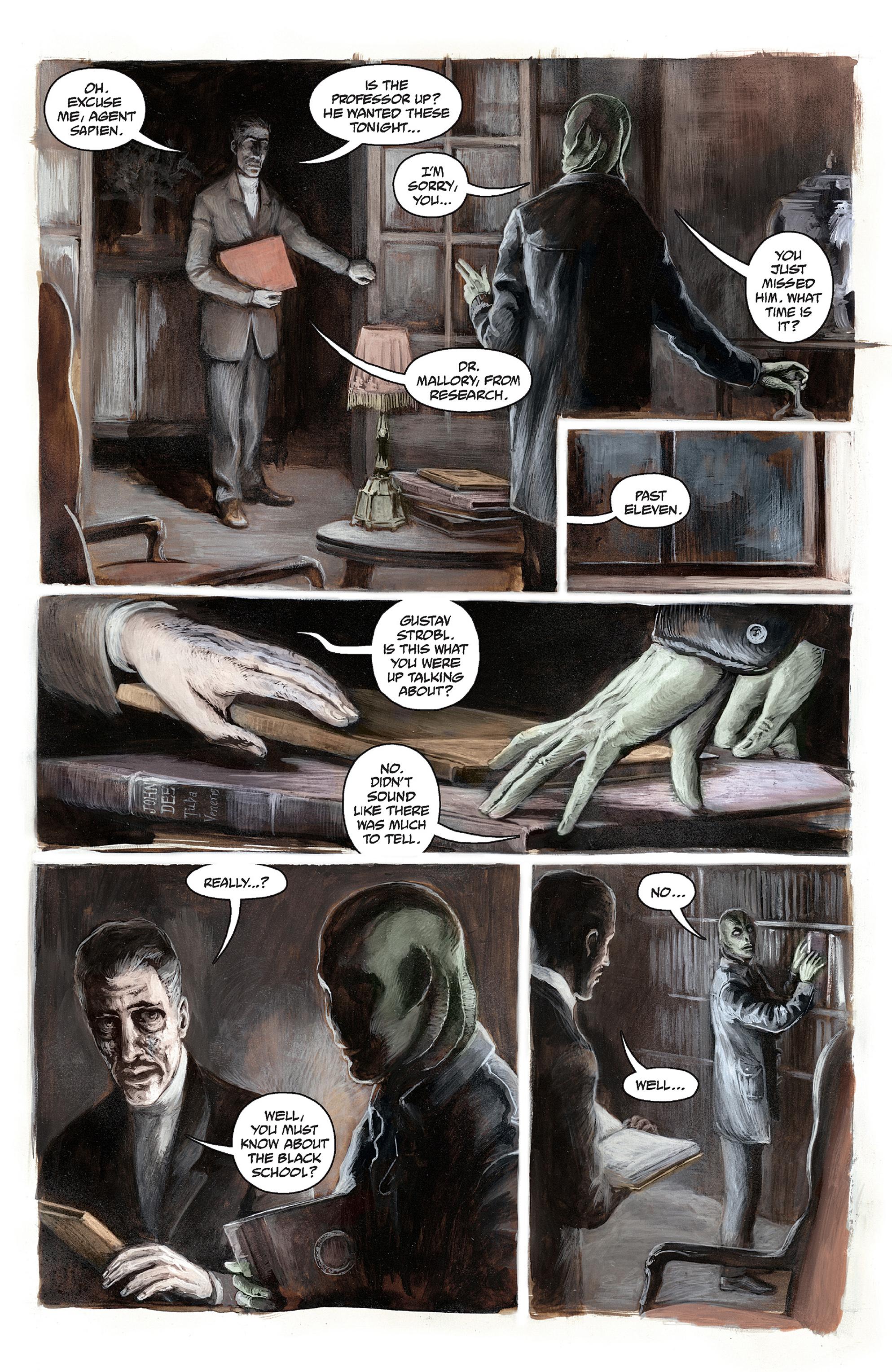 Read online Abe Sapien comic -  Issue #30 - 6