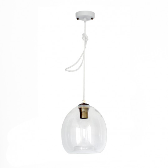 светильник colorglass с белым плафоном