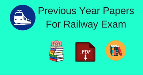 Rrb Previous Question Papers With Answers Pdf