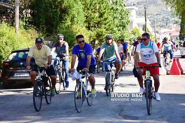 Με επιτυχία η 1η ποδηλατοδρομία της Διεθνούς Ένωσης Αστυνομικών Αργολίδας