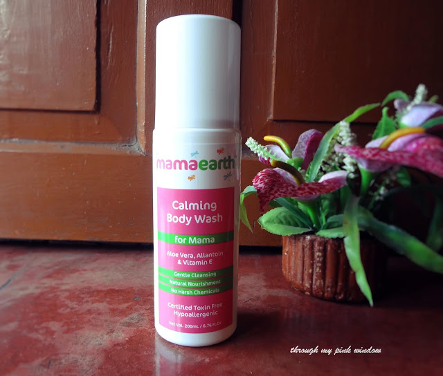 Mamaearth Calming Body Wash for Mama review
