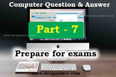 Computer Question & Answer | Basic | Part - 7