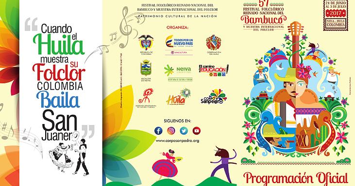 Programaci n oficial del festival folcl rico y reinado - Agencia de viajes diana garzon ...