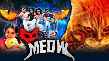 Poster Of Meow In Hindi Dubbed 300MB Compressed Small Size Pc Movie Free Download Only At worldfree4u.com