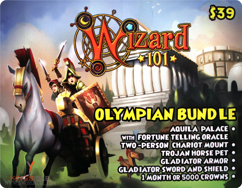 Wizard101 Olympian Bundle