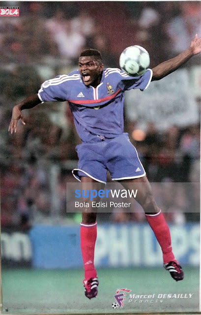 Poster Marcel Desailly (Prancis)