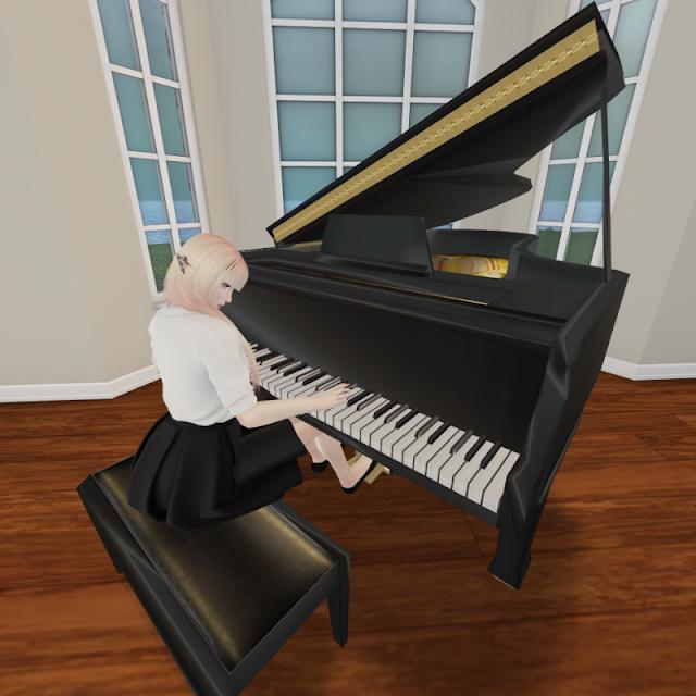 Prim Perfect $1L Piano toaddressunknown.blogspot.com