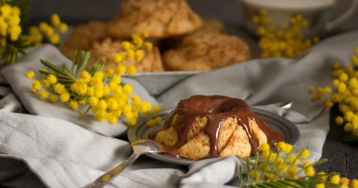 Baño Blanco De Azucar Receta:Canela: Bizcochitos de crème fraîche con baño de chocolate (receta