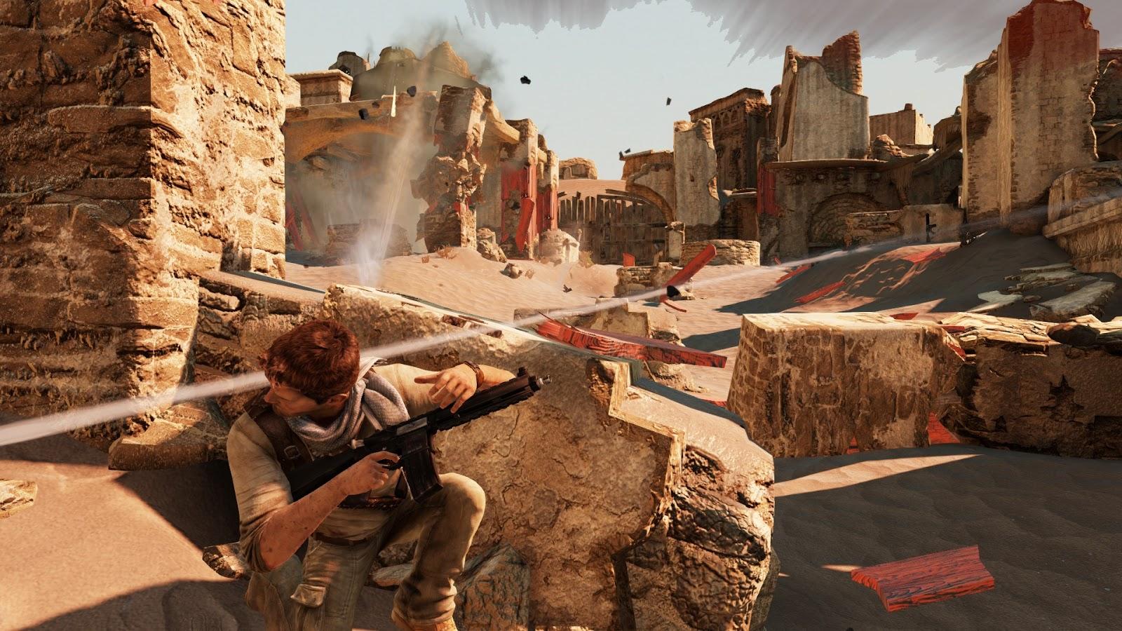 uncharted 3 скачать на пк торрент